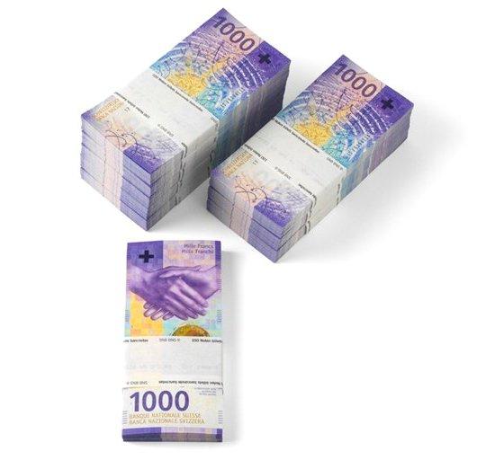Швейцарский франк приближается к 3-летнему максимуму